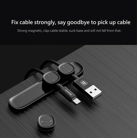 Cable Clip & USB Date Cable Holder