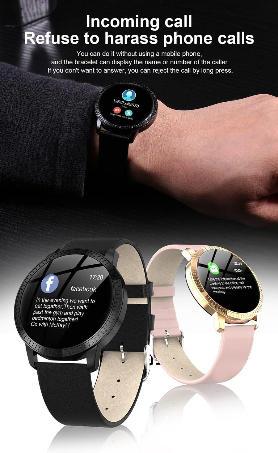 Smart Watch With Exclusive Female Function