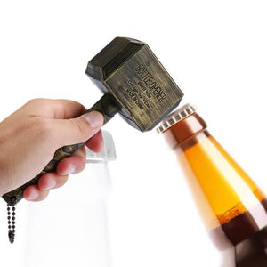 Beer Bottle Opener Hammer of Thor Shaped Bottle Opener - haddishop
