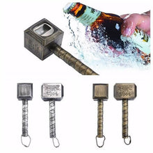 Load image into Gallery viewer, Beer Bottle Opener Hammer of Thor Shaped Bottle Opener - haddishop