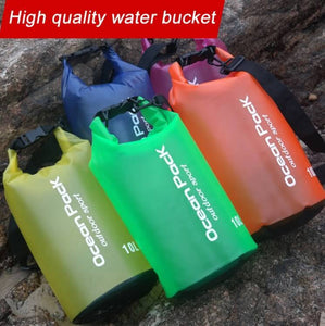 Waterproof Swimming Bag bucket 2L 5L 10L - haddishop