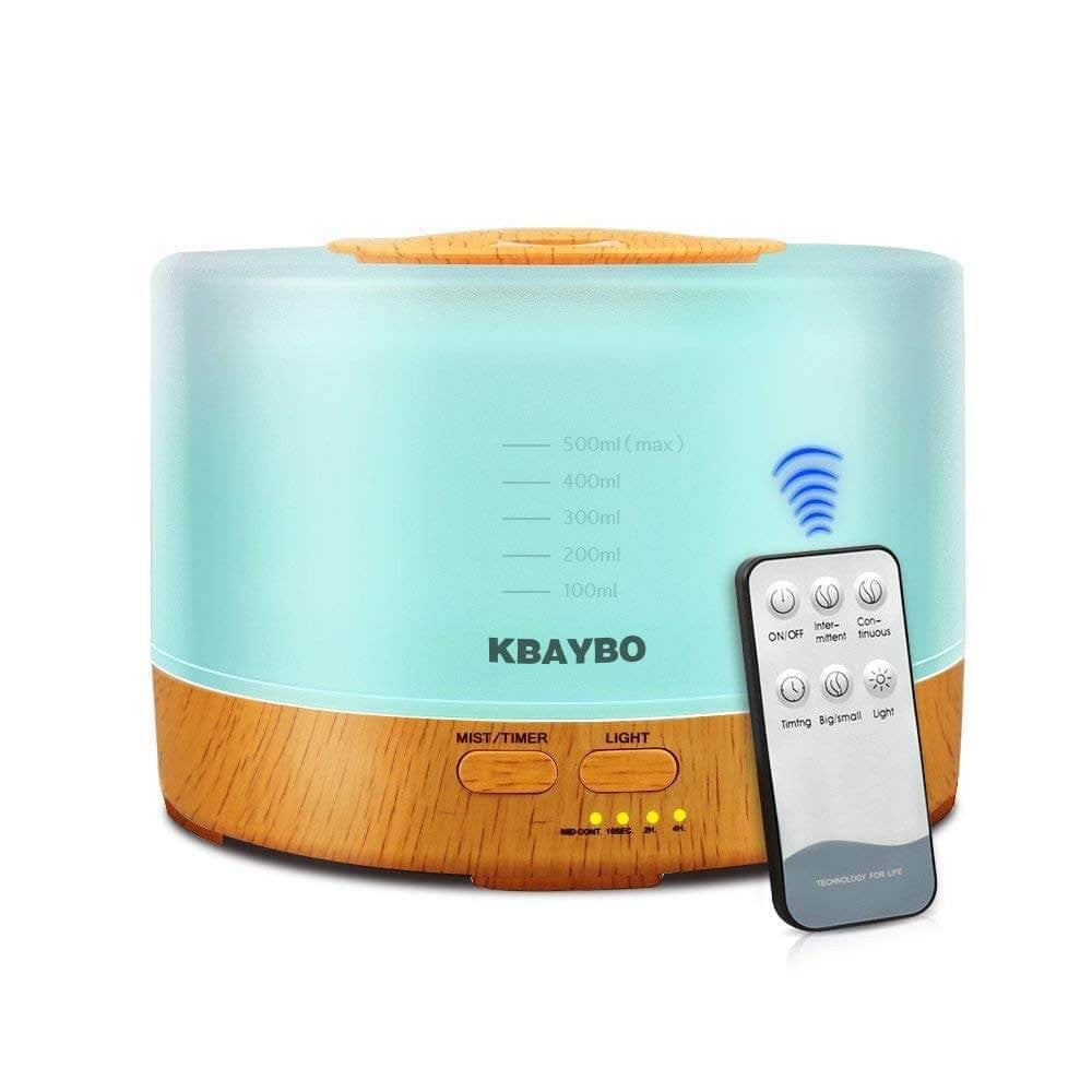Essential Oil Diffuser KBAYBO Air Humidifier - haddishop