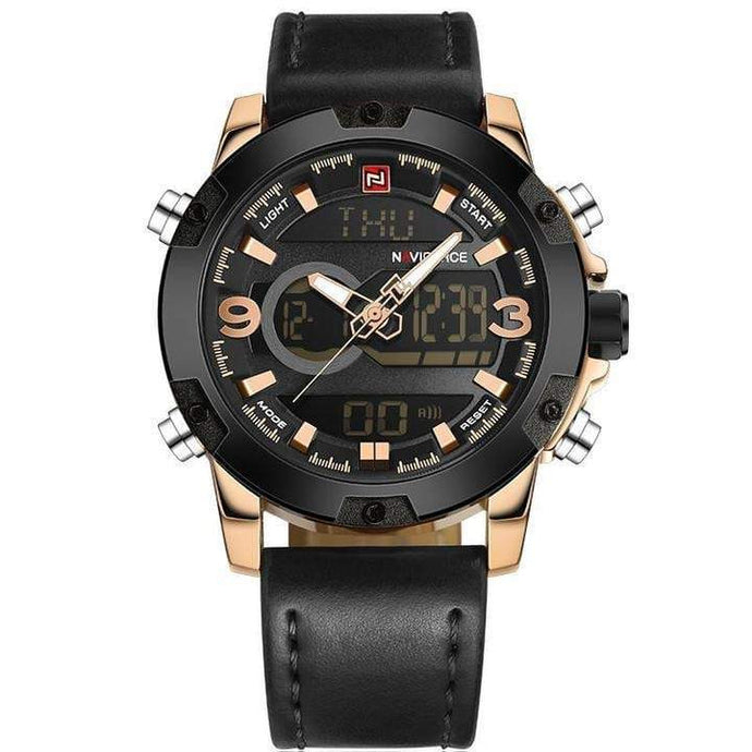 Naviforce Men's Watch Luxury Brand - haddishop