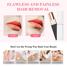 Load image into Gallery viewer, Electric Hair Epilator - lipstick shape shaver