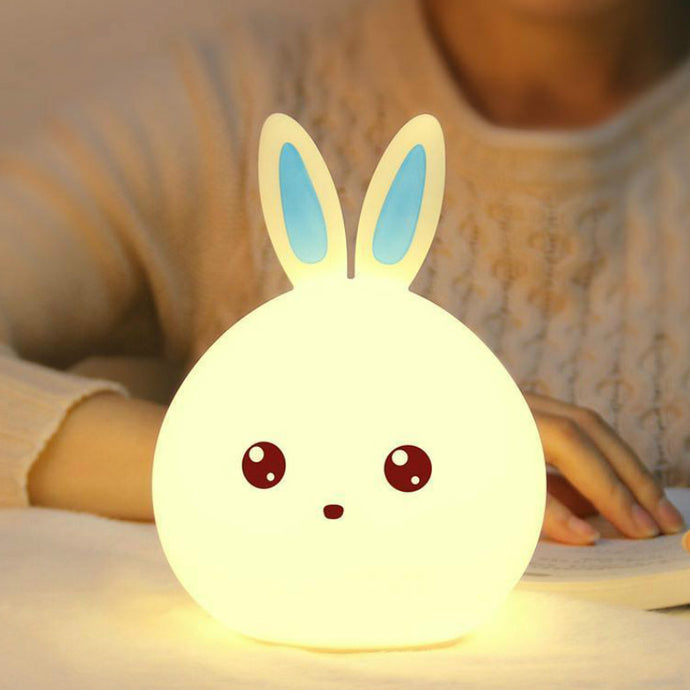 Rabbit Light Multicolor Silicone Baby Nursery