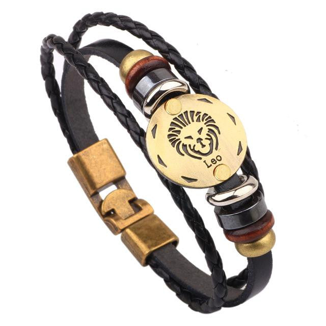 Horoscope Bracelet Male Jewelry 8.2