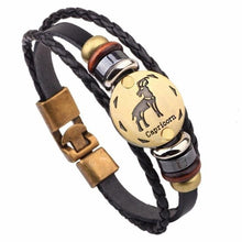 "Load image into Gallery viewer, Horoscope Bracelet Male Jewelry 8.2"" - haddishop"