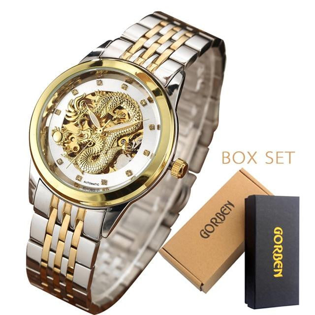 Dragon Skeleton Automatic Mechanical Watch - haddishop