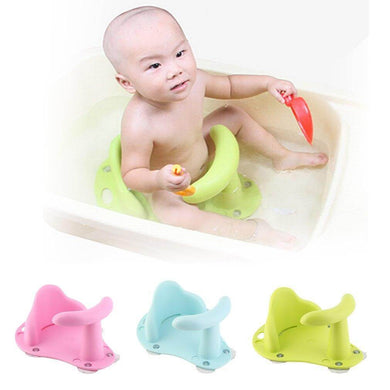 Baby Bath Seat Anti Slip Baby Bathing Seat 3 Colors - haddishop