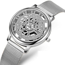Load image into Gallery viewer, SOXY Skeleton Men's Watch - Steel Mesh Watch - haddishop