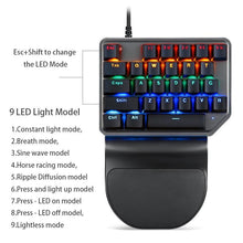 Load image into Gallery viewer, Gaming Keyboard K27 V30 9 LED Backlit Model - haddishop
