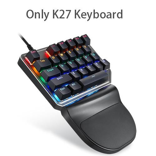 Gaming Keyboard K27 V30 9 LED Backlit Model - haddishop