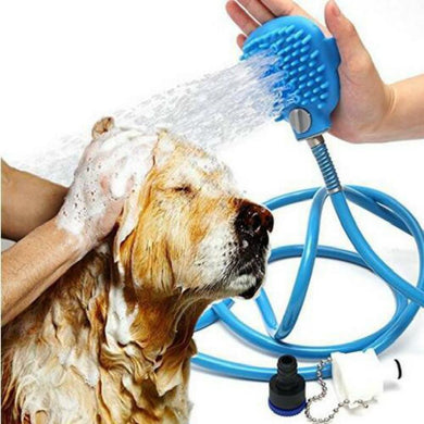 Pet Bathing Tool Comfortable Massager Shower - haddishop