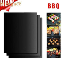 Load image into Gallery viewer, Magic Grill Mat Perfect for Baking on Gas 3PCS - haddishop