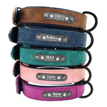 Load image into Gallery viewer, Personalized Dog Collars Name ID Tags - haddishop