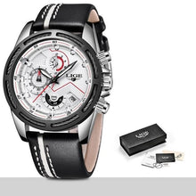 Load image into Gallery viewer, LIGE Men Watch Brand Luxury Fashion - haddishop