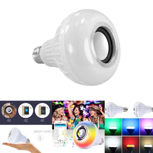 Bluetooth Light Bulb Speaker With Remote Control - haddishop