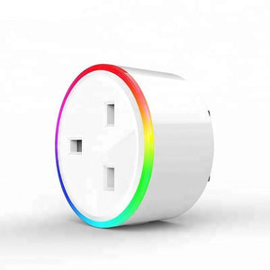 Wifi Smart Socket Works With Google Home Mini Alexa IFTTT - haddishop
