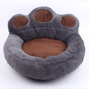 Dog Sofa Pet Bed - Bear Claw Shape Sleeping Bed - haddishop