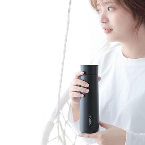 Smart Water Bottle LED Temperature Display 380ml - haddishop