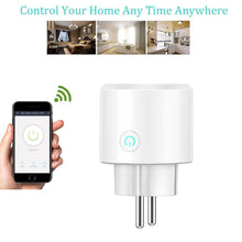 Load image into Gallery viewer, WiFi Smart Socket Power Monitor EU US UK Plug - haddishop