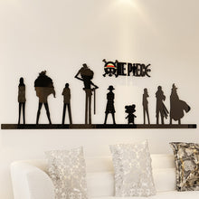 Load image into Gallery viewer, One Piece 3d Wall Sticker Acrylic Living room