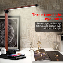 Load image into Gallery viewer, Desk Lamp Wireless Charger For Qi phones 4 in1