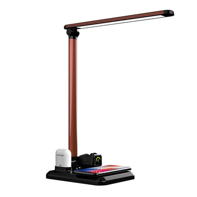 Desk Lamp Wireless Charger For Qi phones 4 in1