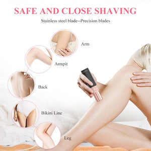 Electric Hair Epilator - lipstick shape shaver