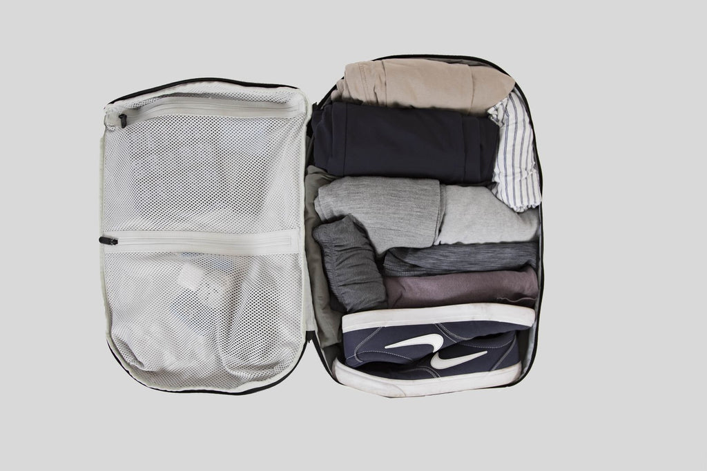 Prelude Backpack main compartment packed