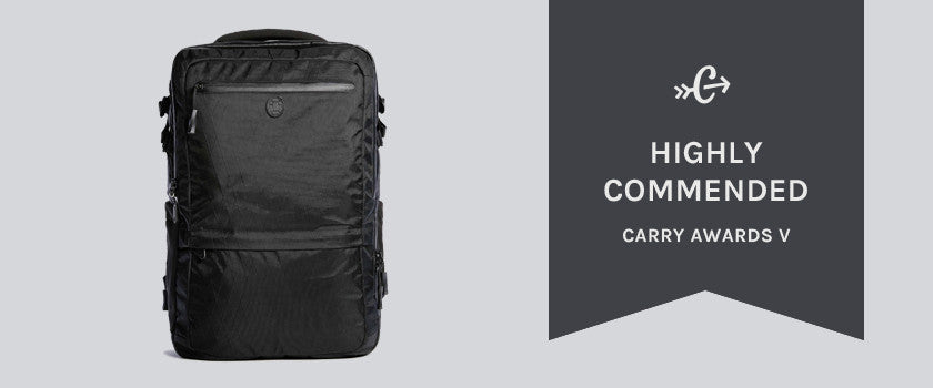 f70841613fce Carryology gives out awards for the best travel backpacks annually. This  year, they recommend Tortuga, Aer, and Outlier. Here's their video review  of the ...