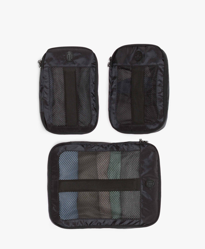 product/ Top grab handles and mesh to help you see what you packed