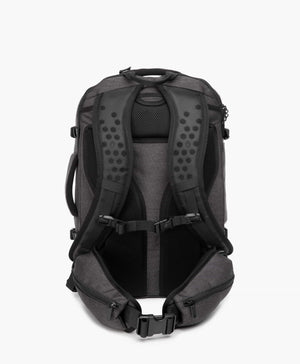 product/ Padded back panel, shoulder straps, and removable hip belt ensure a comfortable carry