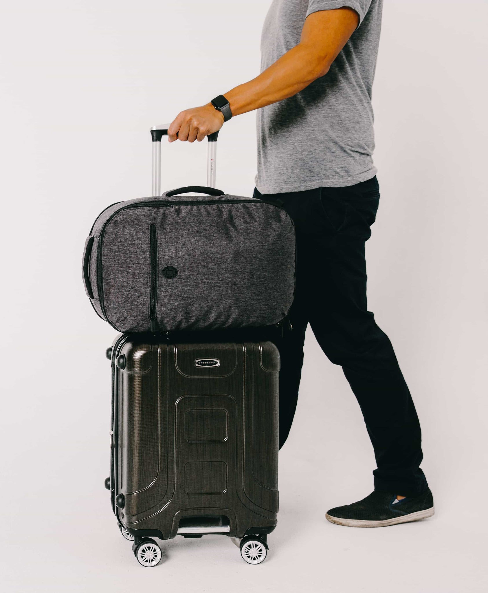 product/ Pairs with a rolling suitcase