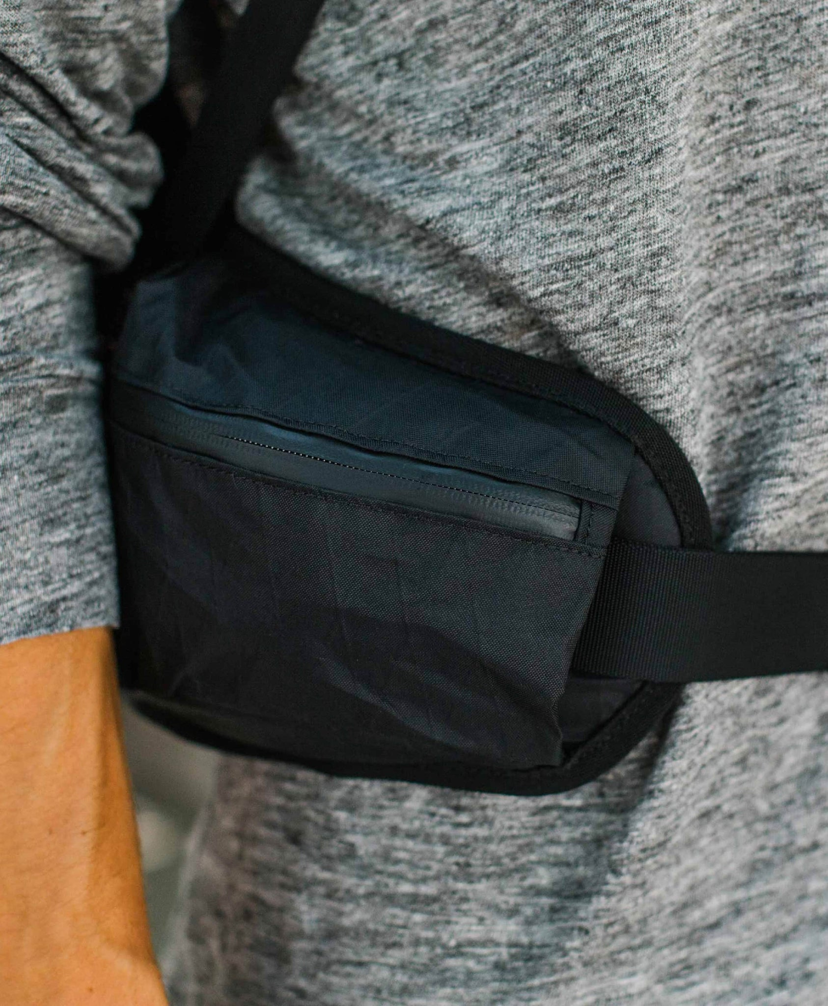 product/ Padded hip belt transfers 80% of the weight away from your shoulders