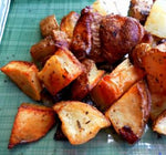Herb and Garlic Roasted Potatoes