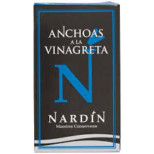 Nardin White Anchovies in Vinaigrette 100g
