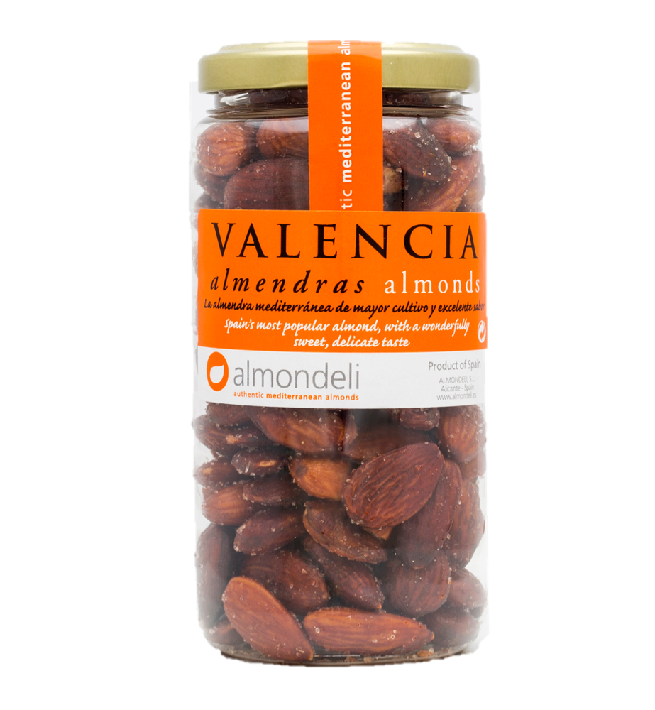 Almondeli Valencia Almonds with Skin-On