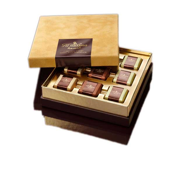 Al Nassma 9 Piece Chocolate Gift Box 118.8g