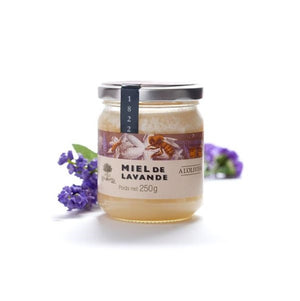 LAVENDER HONEY Glass jar 250g
