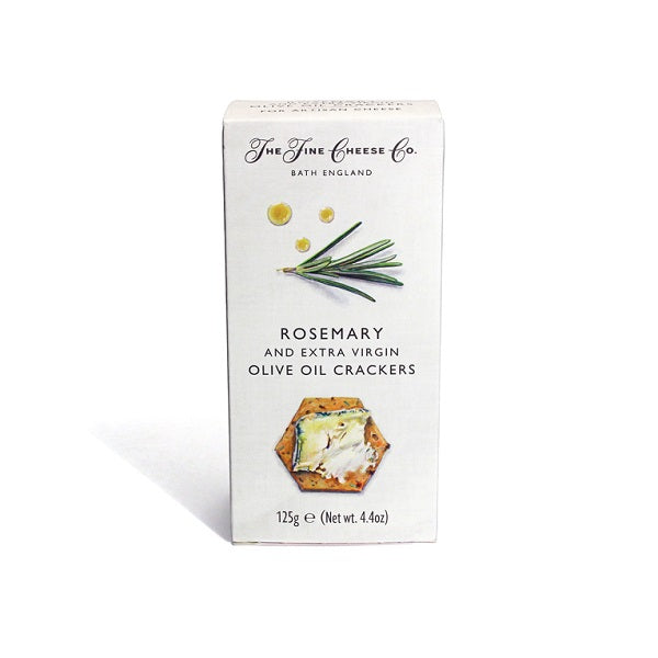 TFCC Rosemary Crackers 125g