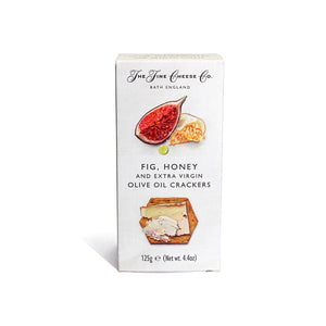 Fine Cheese Co. Fig, Honey and Olive Oil Crackers 125g