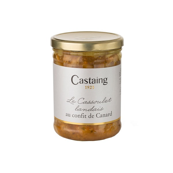 Castaing 'Landes' Style Cassoulet with Duck Confit 800g