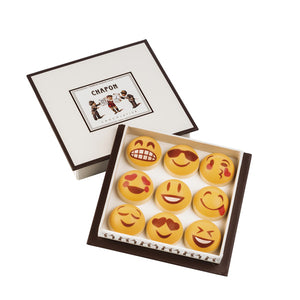 Chapon Chocolate Praline Smiley Emoji x 9 Gift Box 71g