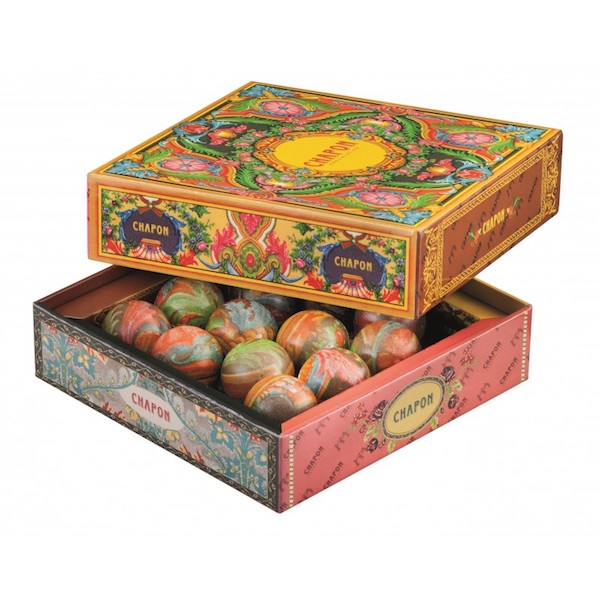 Chapon 12 Agate Spheres Praline Gift Box 95g
