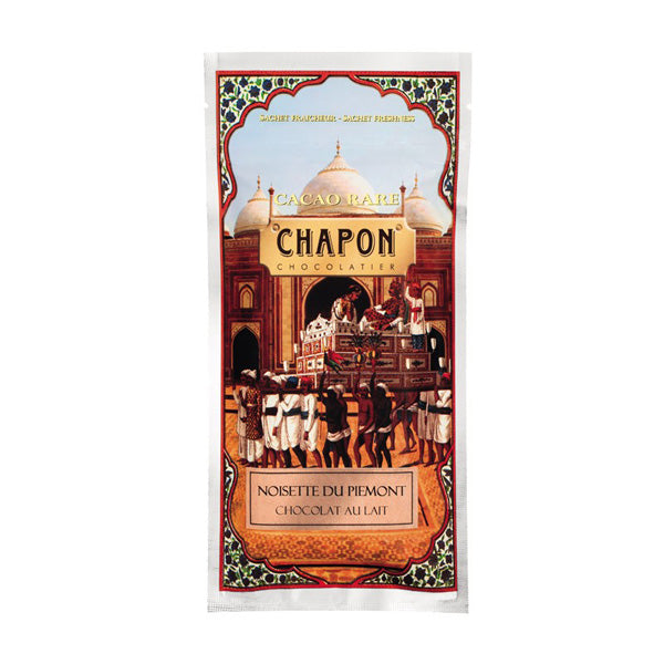 Chapon Tablette Lait with Piedmont Hazelnuts 100g