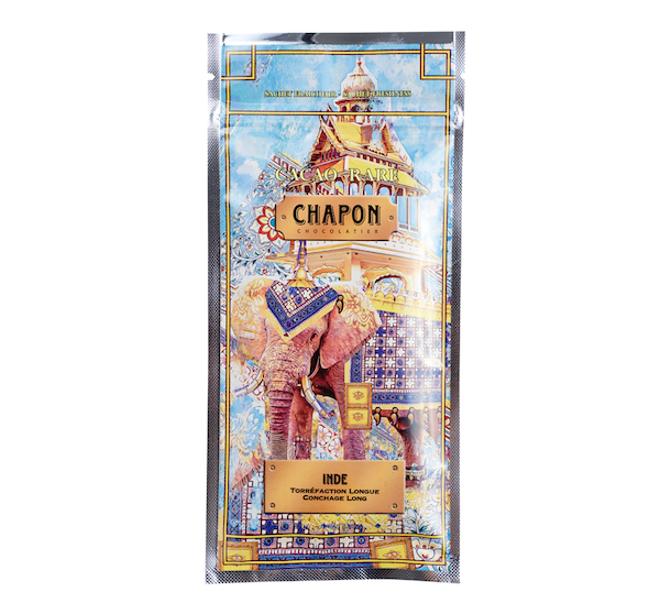 Chapon Tablette Noir Inde 75g
