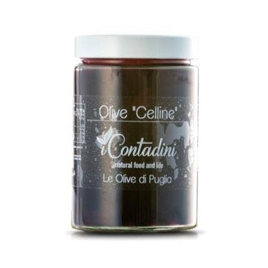 Celline Blk Olives Brine 550g