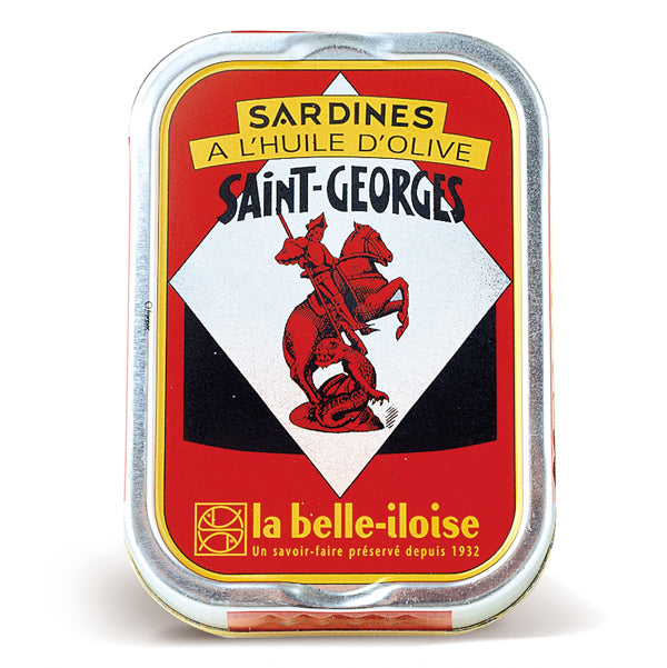 Sardines St Georges Oil 115g