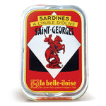 La Belle Iloise Sardines St Georges In Extra Virgin Olive Oil 115g